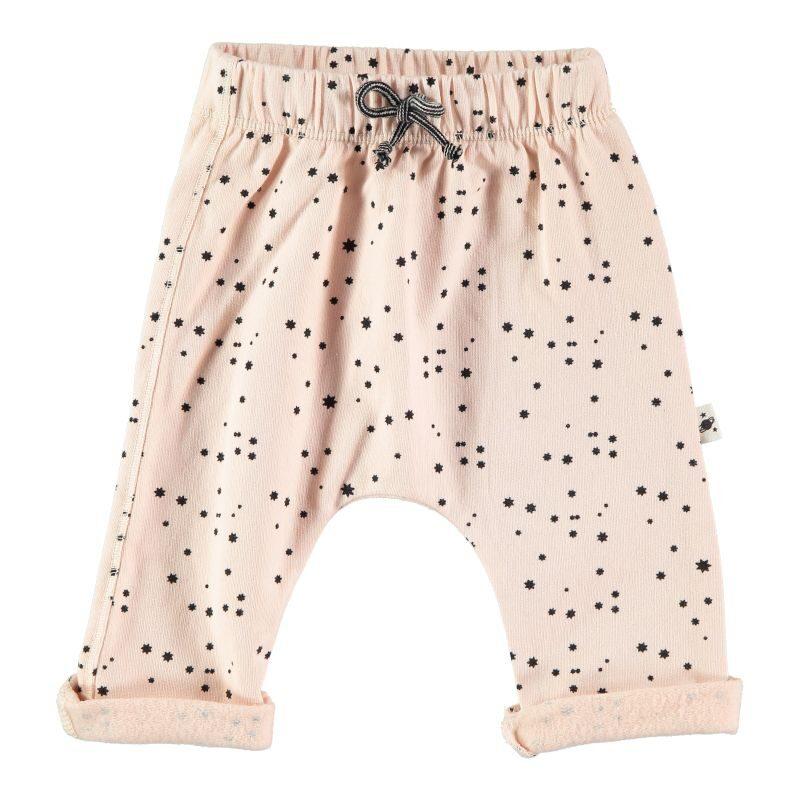 My Little Cozmo pantalones estampados de algodón orgánico