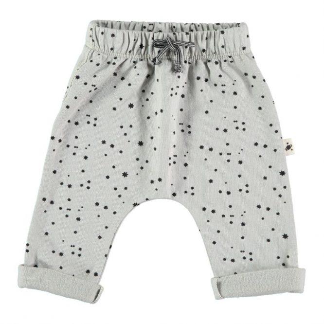 My Little Cozmo pantalones de algodón orgánico estampados