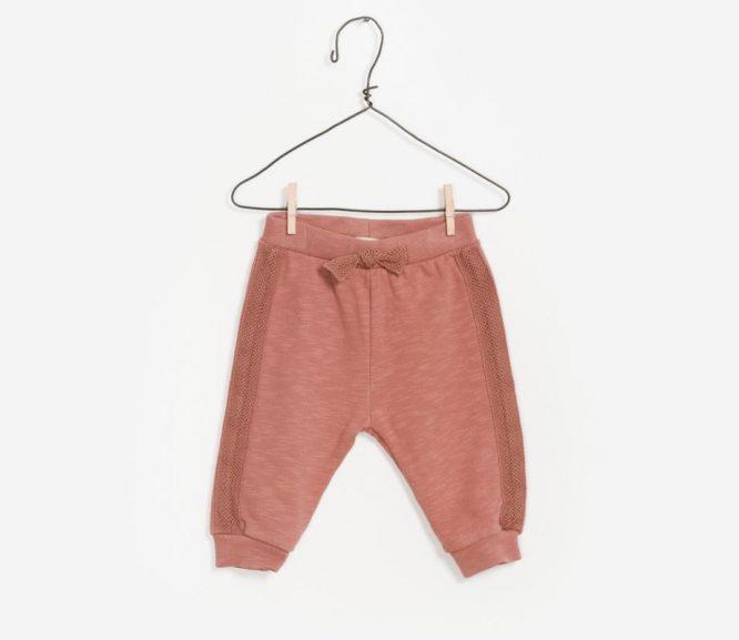 Play Up pantalón de algodón orgánico