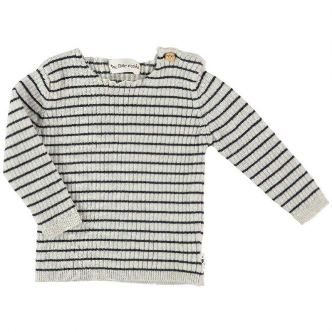 My Little Cozmo jersey de punto de canalé