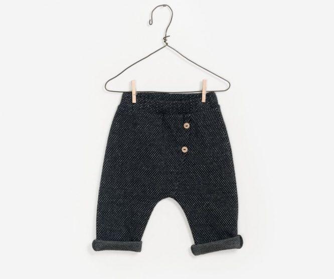 Play Up pantalón baggy en algodón orgánico