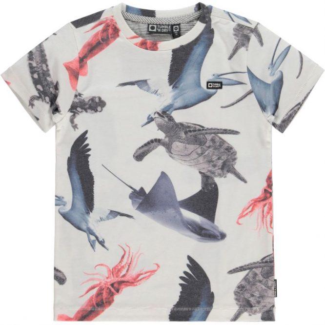Tumble n Dry camiseta de niño de manga corta - Delante