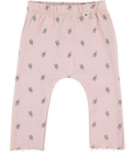 My Litte Cozmo pantalones estampados de algodón