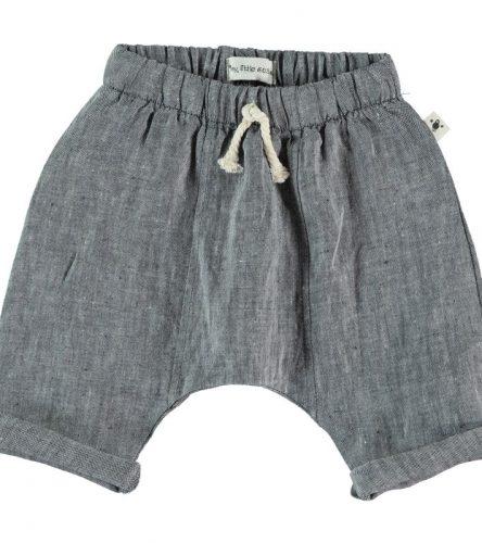 My Little Cozmo Pantalones de lino de bebé - delante