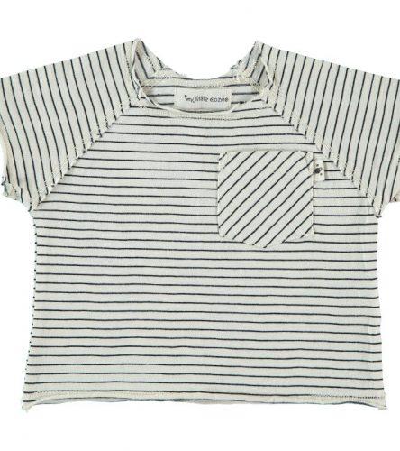 My Little Cozmo camiseta marinera de rayas