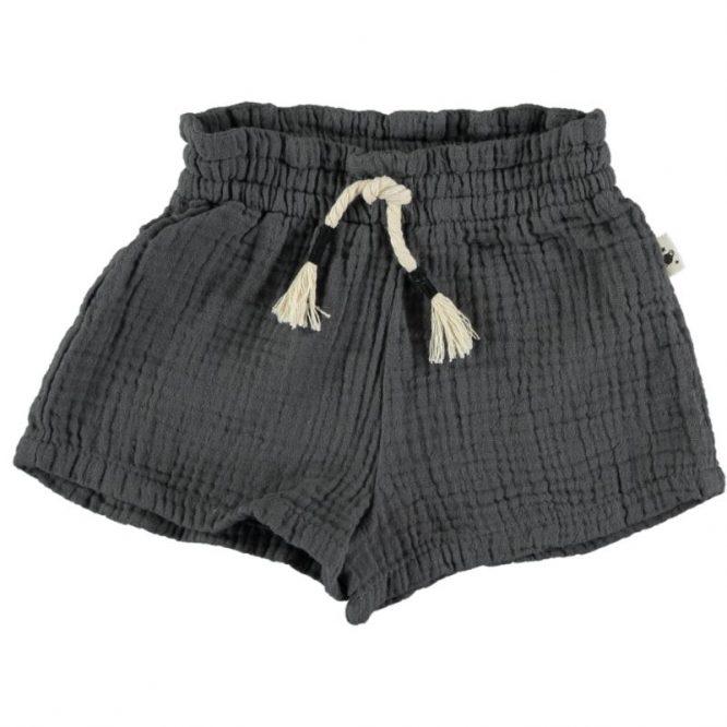 My Little Cozmo - Frescos shorts de bambula en algodón orgánico para niñas