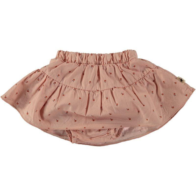 My Little Cozmo - Falda de vuelo estampada con culotte