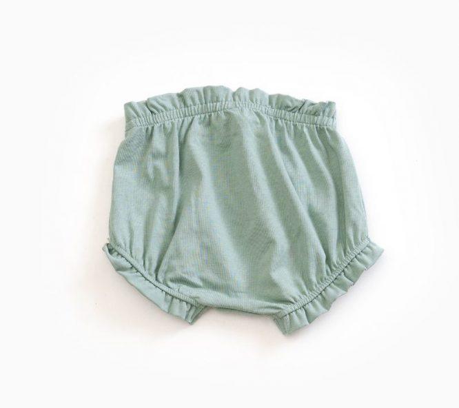 Play up Culotte liso en algodón orgánico