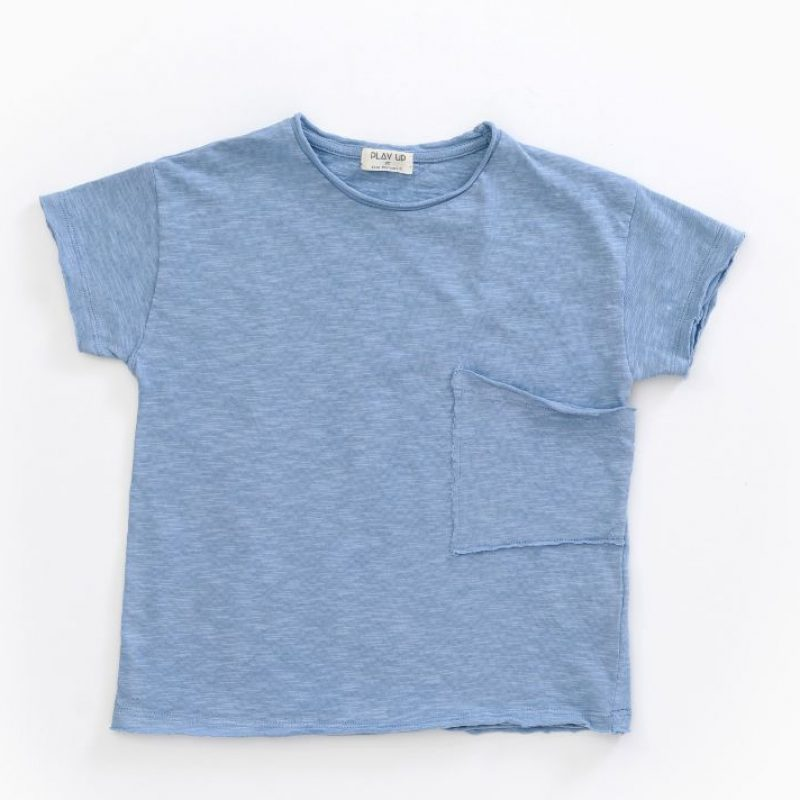 Play Up Camiseta de manga corta en algodón orgánico