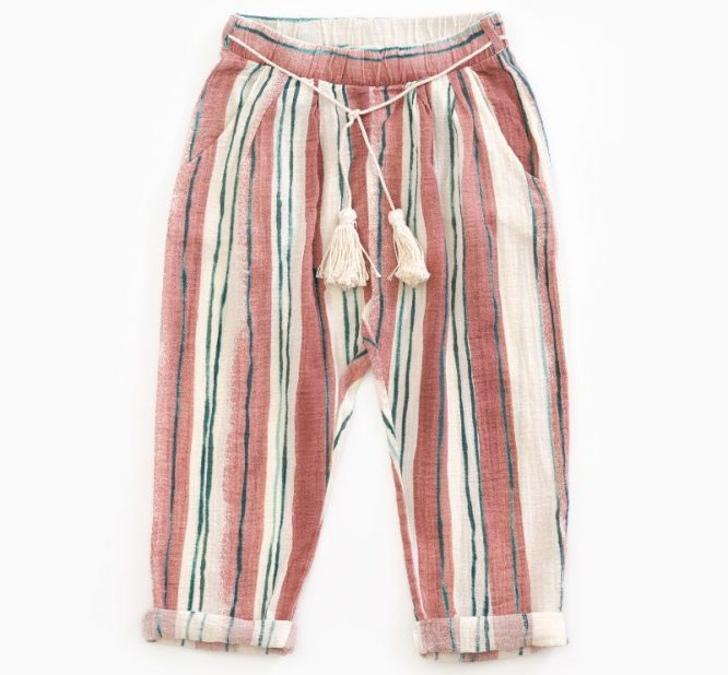 Play Up ligeros pantalones de rayas
