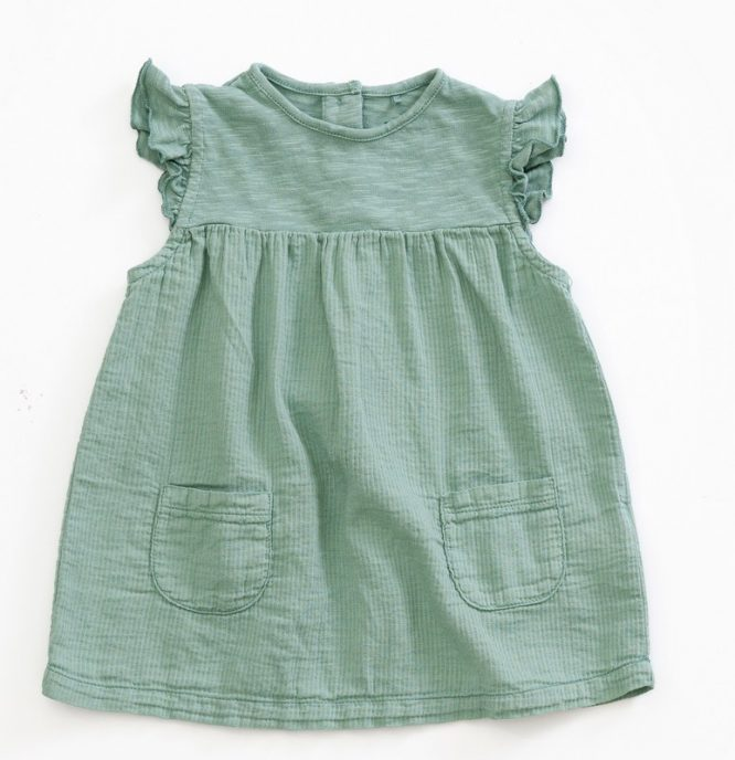 Play Up Vestido de algodón - delante