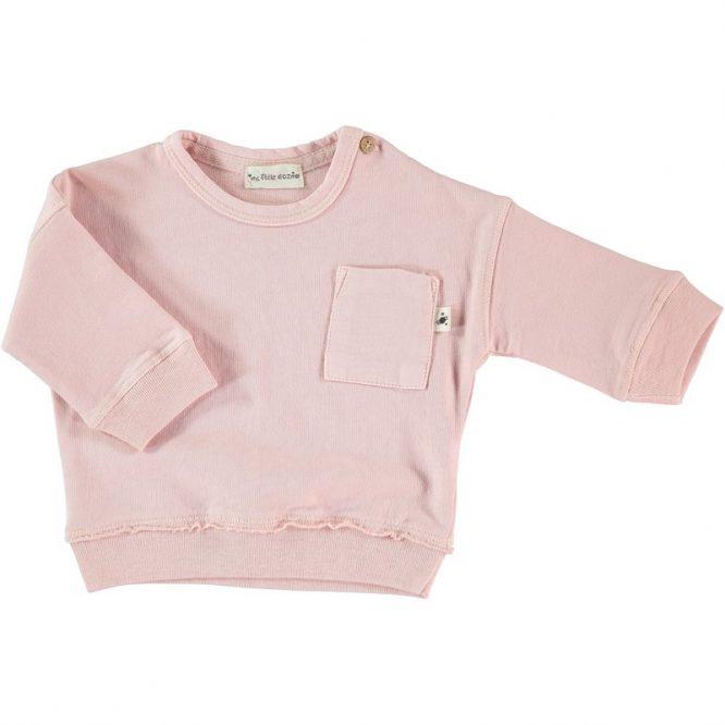 My Little Cozmo sudadera de algodón rosa