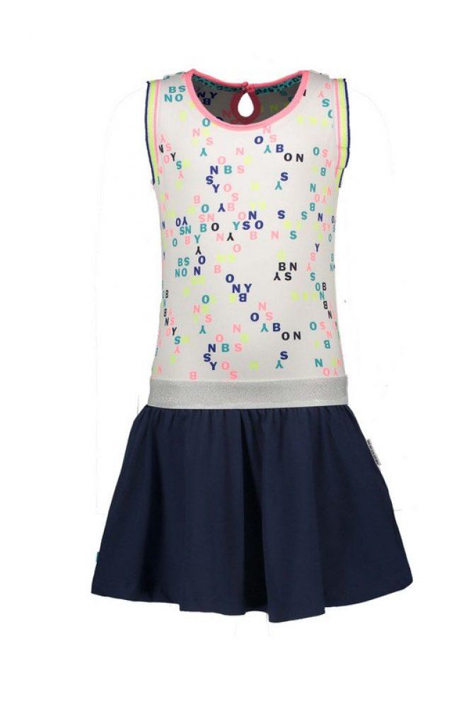 B-Nosy moderno vestido estampado sin mangas - delante