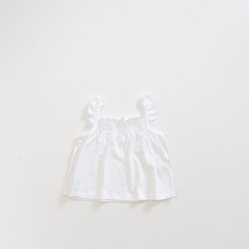 Top de algodón orgánico para niña de la marca Play Up
