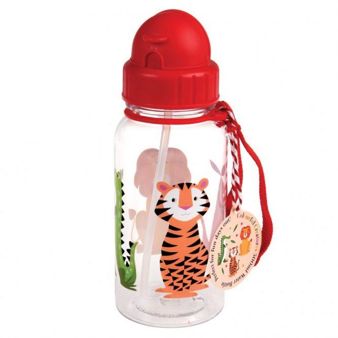 Botella de plástico reutilizable de Rex London