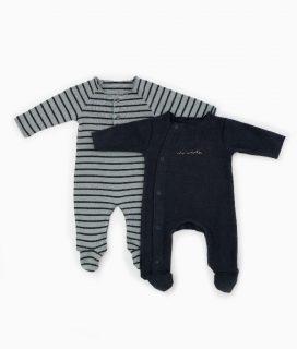 Conjunto de pijamas en algodón orgánico de Play Up