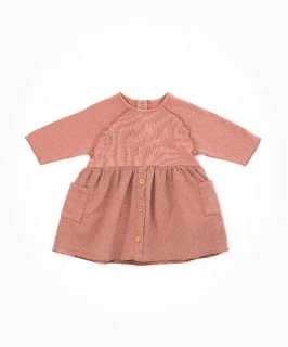 Vestido de bebé con algodón orgánico de Play Up