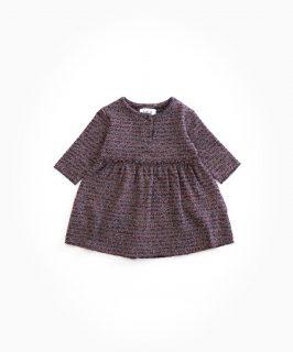 Vestido de algodón orgánico para niña de Play Up