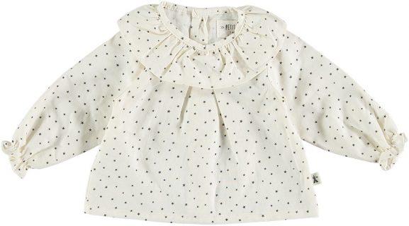Blusa estampada para bebé de Petit Indi