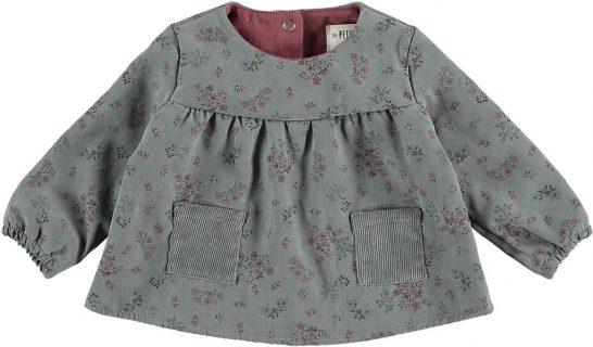 Blusón estampado de Petit Indi