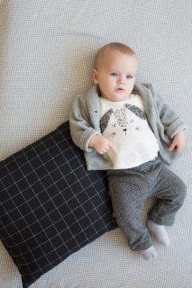 Camiseta de manga larga para bebé Petit Indi
