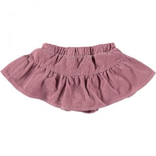 Falda de pana con culotte incorporado para bebé de My Little Cozmo
