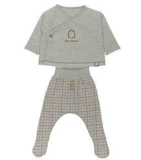 Conjunto de bebé en algodón orgánico de snug