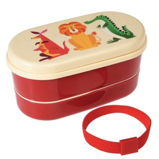 Fiambrera con compartimentos para niños de Rex London
