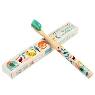 Cepillo de dientes infantil de bambú