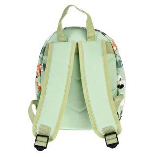 Mini mochila infantil estampada - detrás
