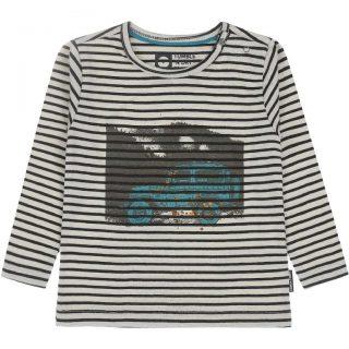Camiseta de rayas en algodón orgánico para niño de Tumble & Dry