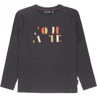 Camiseta de algodón orgánico de niña de Tumble & Dry