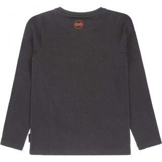 Camiseta de algodón orgánico de niña de Tumble & Dry - detrás