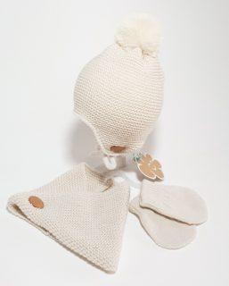 Conjunto de gorro, bufanda y guantes de Monnuage