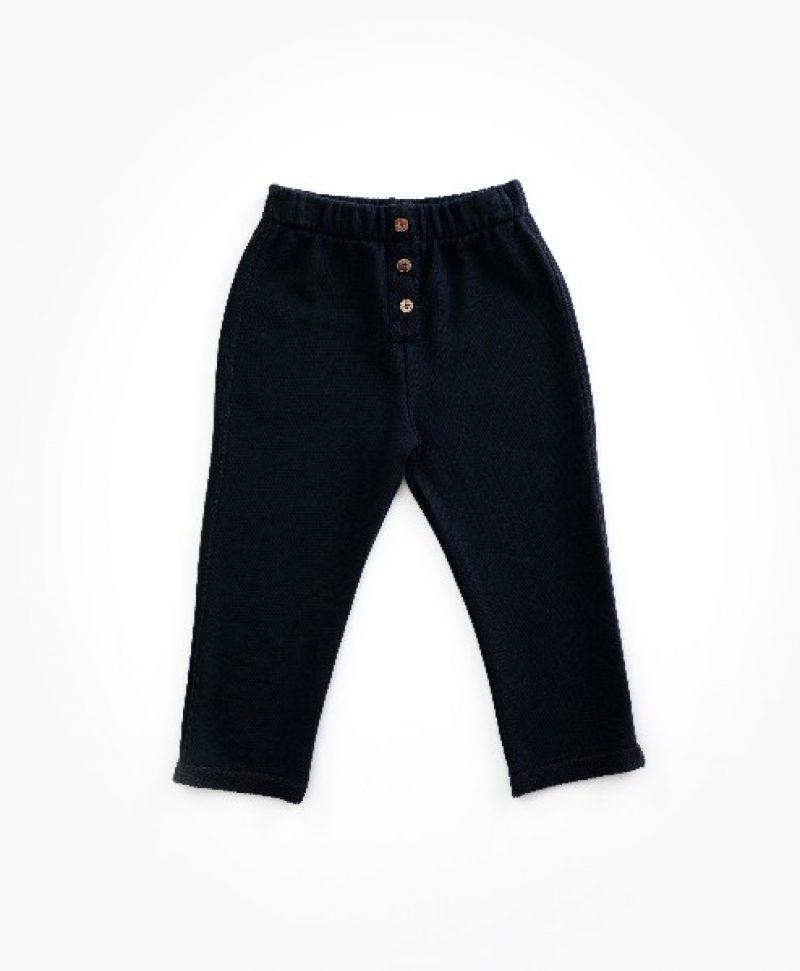 Pantalón de algodón orgánico para niño de Play Up