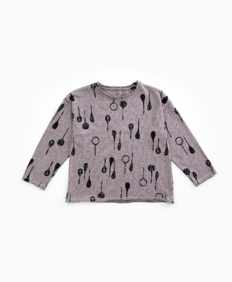 Camiseta de niño en fibras recicladas de Play Up