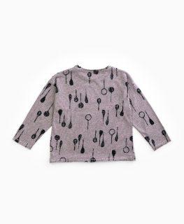 Camiseta de niño en fibras recicladas de Play Up - detrás