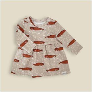 Vestido estampado de Cachalote Kids
