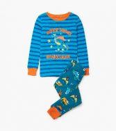 Pijama unisex de algodón orgánico de la marca Hatley