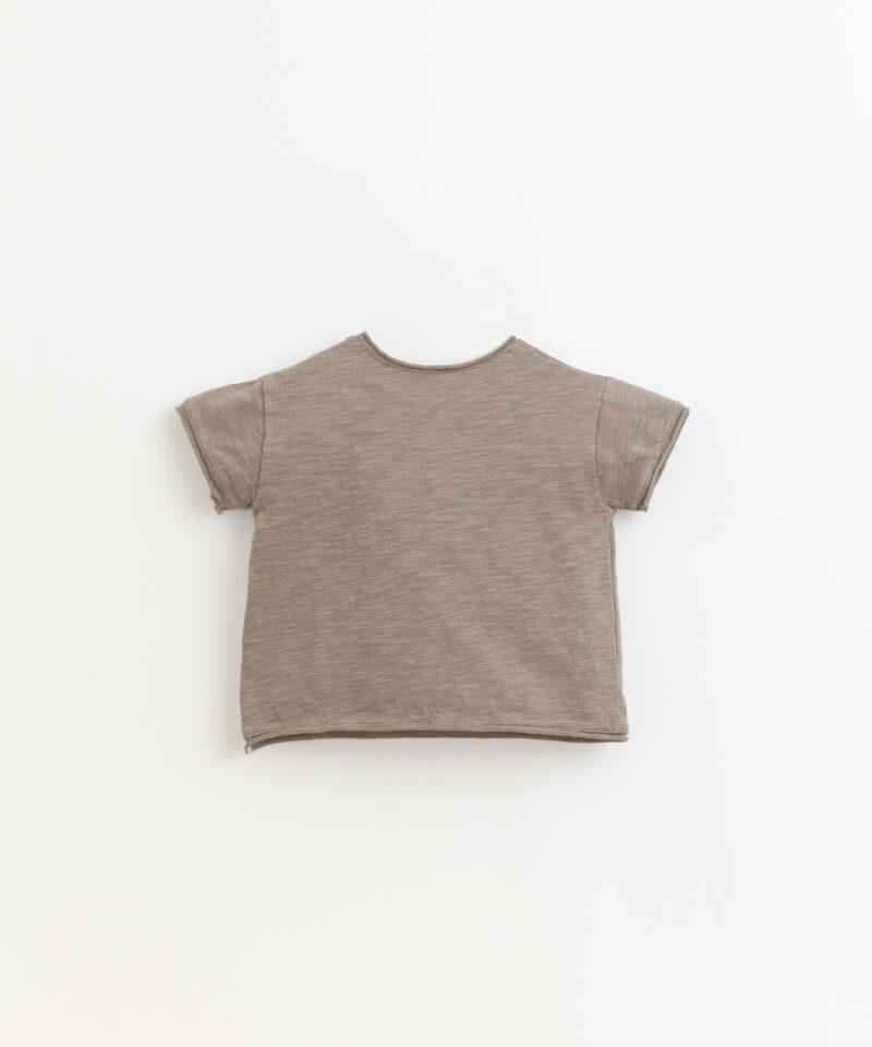 Camiseta de algodón orgánico de Play Up - detrás