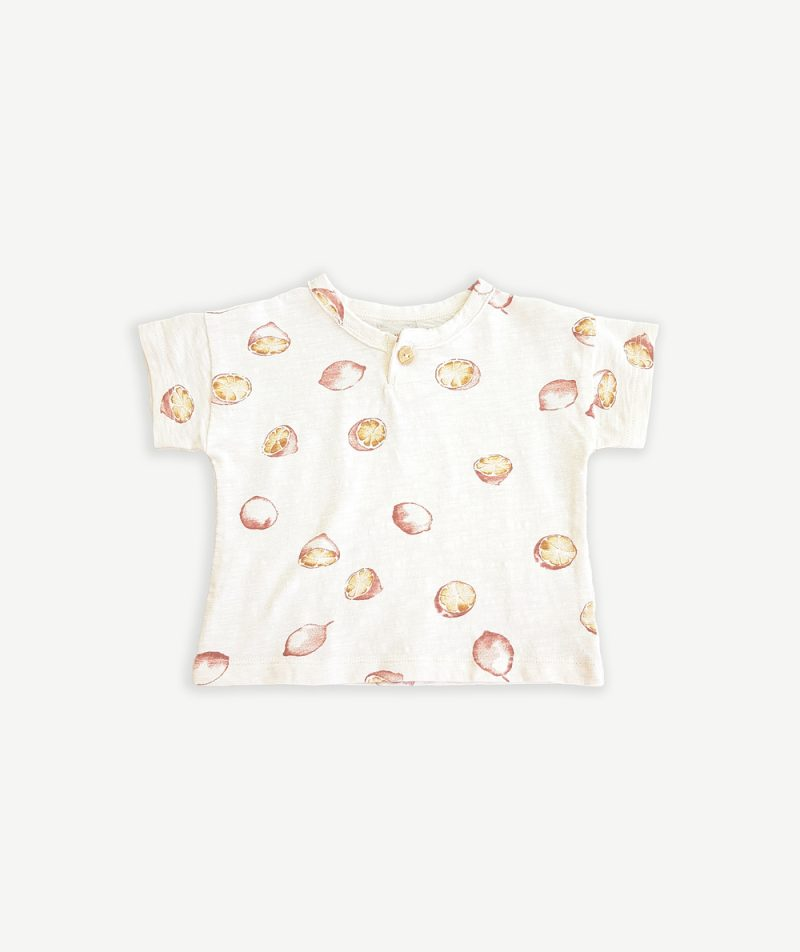 Camiseta estampada de algodón orgánico de Play Up