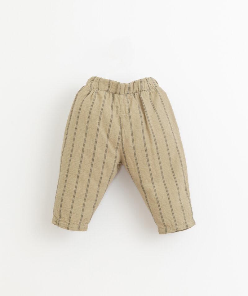 Pantalones largos para niño de Play Up - detrás