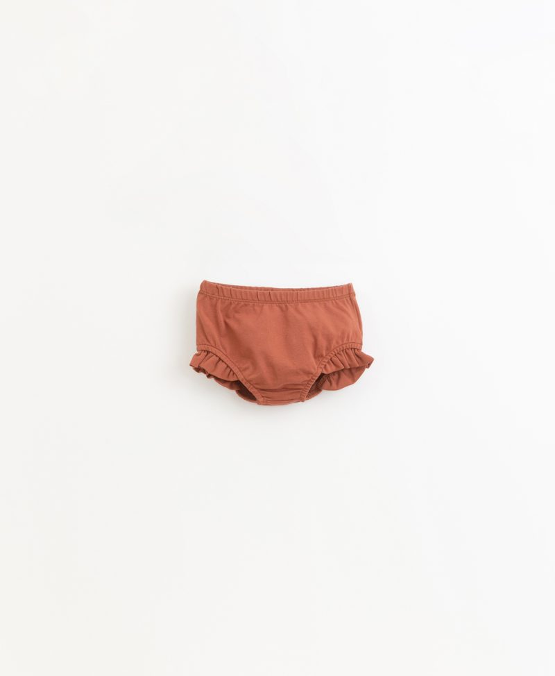 Culotte de algodón orgánico de la marca Play Up