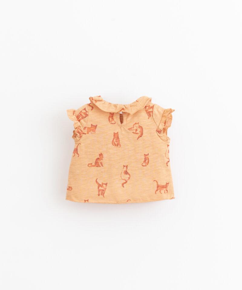 Camiseta estampada para bebé de Play Up - detrás
