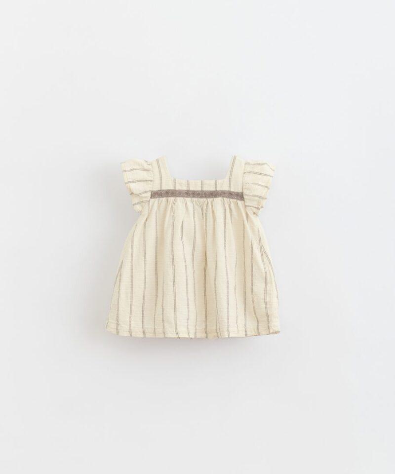 Vestido de rayas para bebé de Play Up