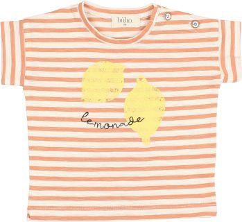 Camiseta de rayas para bebé de Búho