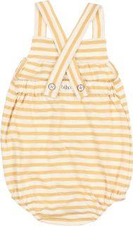 Ranita de bebé en algodón orgánico de Búho - detrás