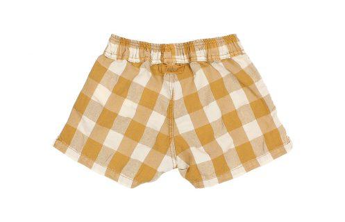 Pantalón corto para bebé de Búho - detrás