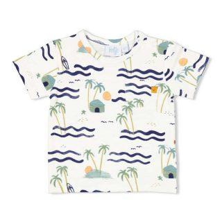 Camiseta de algodón orgánico para bebé de Feetje