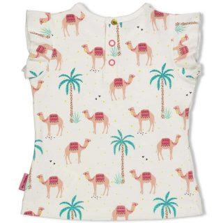 Camiseta estampada de bebé de la marca Feetje - detrás